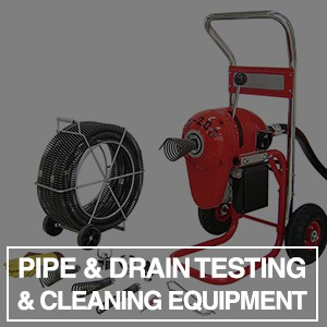 Pipe & Drain Testing and Cleaning Equipment